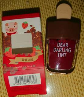 SuperSale! Etude House Dear Darling Tint RD308 with freebies