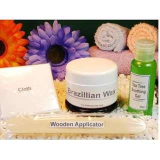 Brazillian Wax Kit
