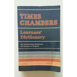 Times Chambers English Learner's Dictionary