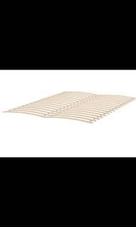 Ikea Full/Double bed frame & slats need gone ASAP- pick up only