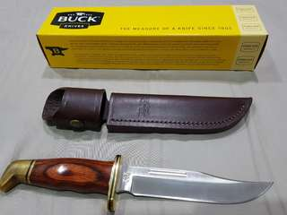 Original Buck Knife Genuine Leather Case