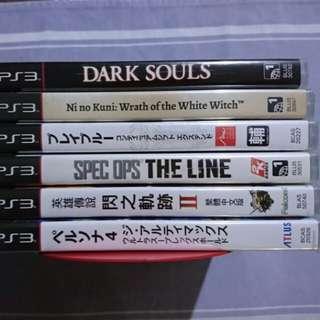 Kaset Game PS3 Baru