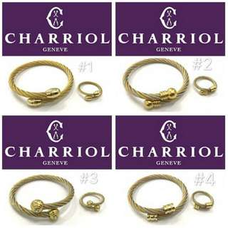 Charriol Bangles & Ring