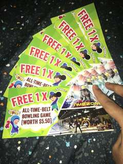 🚚 Orchid Bowls Bowling Tickets!