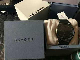 SKAGEN LEATHER