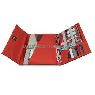 13 inch Mac Air/other laptop & accessories foldable pouch