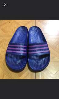 🚚 Adidas 紫色愛迪達拖鞋