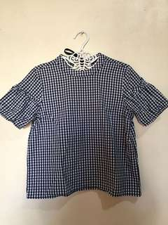 Forme gingham top