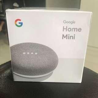 Google Home Mini w/ Speaker