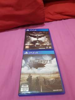Final Fantasy XV & Batman arkham knight