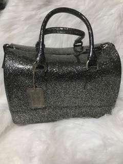 Pre Loved Authentic Furla Jelly Bag