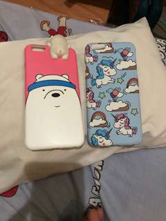 Ice Bear & Blue Unicorn iPhone 6+ Case