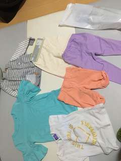 TAKE ALL 8PCS TODDLER CLOTHES