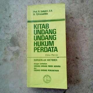 Kitab UU Hukum Perdata (Edisi Revisi)