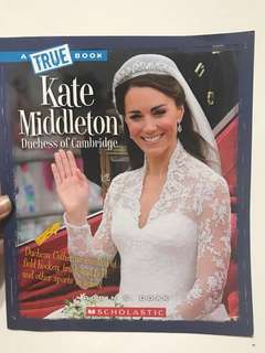 Kate Middleton Duchess of Cambridge by Scholastic