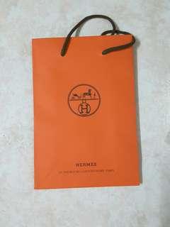 Hermes 紙袋14.5 x 21.5