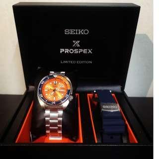 Seiko Asia Limited Edition Orange Turtle SRPC95K1