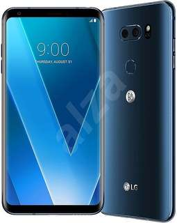 New LG V30+ in moroccan blue