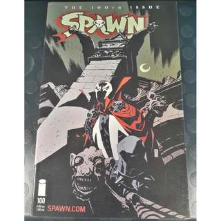 Spawn #100D (Mike Mignola Cover)