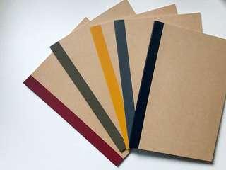 🚚 Customized Notebooks (MUJI)