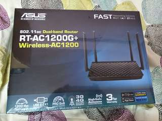 Asus Dual Band Router RT-AC1200+