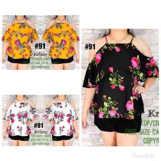🔥🔥for plus size women (top only)