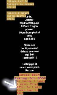 Phuket trip