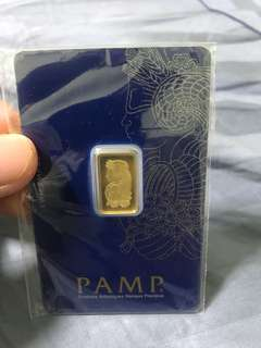 2.5g pamp gold