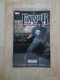 Marvel Comics Punisher War Journal Volume 4 Jigsaw TPB Near Mint Condition First Print