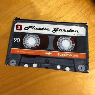 Retro cassette zipped pouch #hariraya35