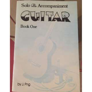 Solo & Accompaniment Guitar Guidebook Level 1 by J. Png