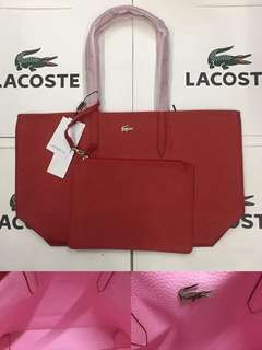 Lacoste Reversible Tote Bag