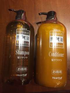 Horse Oil Shampoo Conditioner MADE IN JAPAN