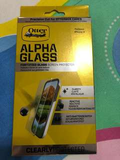 ORIGINAL OTTERBOX ALPHA GLASS SCREEN PROTECTOR FOR IPHONE X