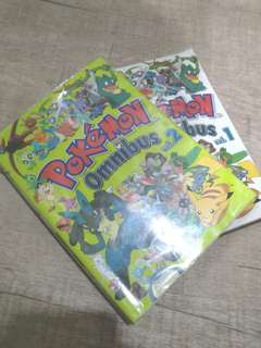 Pokemon Omnibus vol.1 and 2