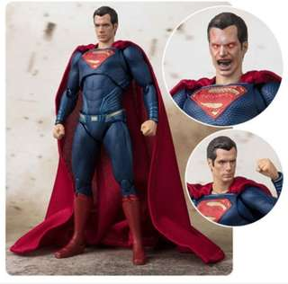 Shf 魂限定 superman (Justice League)