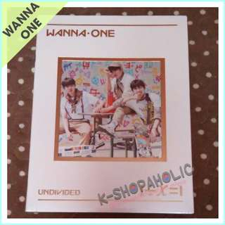 WANNA ONE - Special Album ' UNDIVIDED  Triple Position version