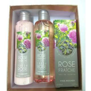 Yves Rocher Bath gel/Lotion/Eau de Toilette