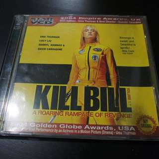 Kill Bill Volume 1 VCD (Original)