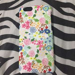 Floral Hardcase for Iphone 6