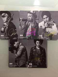 Super Junior Yescard