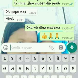 Testi customer nih alhmdulillah