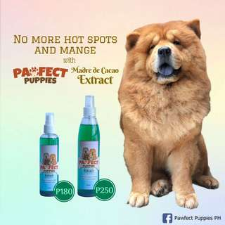 Pawfect Puppies Madre de Cacao Extract