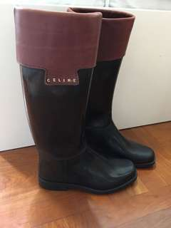 Rare and authentic Celine rain boots