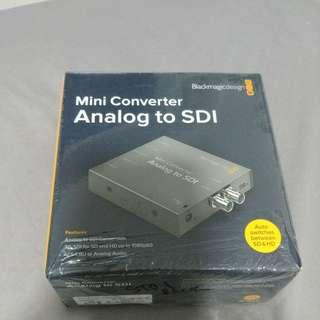 Mini converter analog to sdi (blackmagic design)