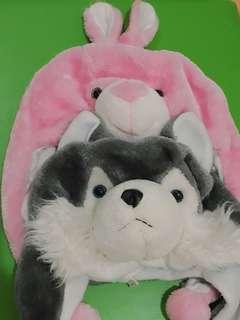 Buy 1 Get 1 Stuffed Animal Hat
