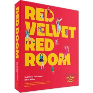 [Pre-order] RED VELVET 레드벨벳 - RED VELVET 1ST CONCERT [RED ROOM] 키노 비디오 (1 DISC)