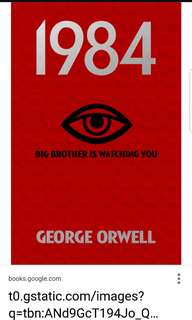 George Orwell - 1984 @ $1 ONLY! (Cheapest on Carousell)