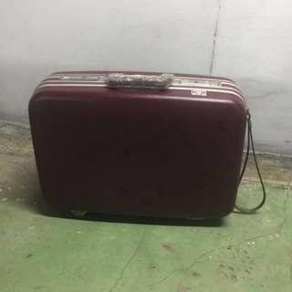 🚚 二手復古行李箱咖啡色