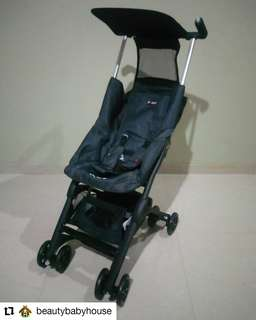 Sewa Stroller Pockit 5 Denim